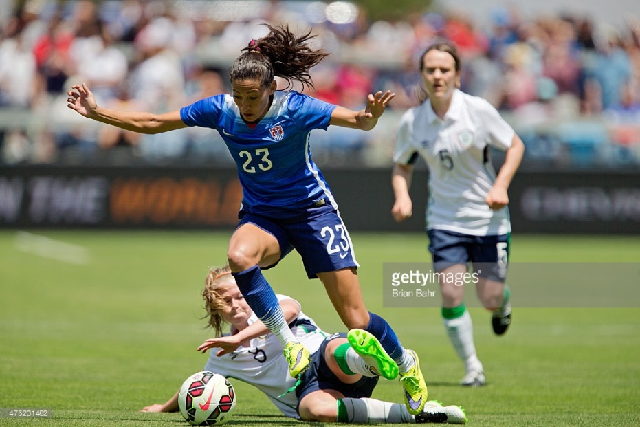 Ireland v United States : News Photo