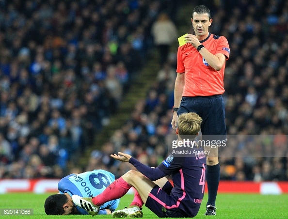 Manchester City vs Barcelona - UEFA Champions League : News Photo