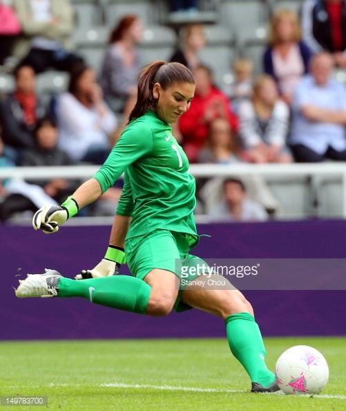 Olympics Day 7 - Women's Football Q/F - Match 20 - USA v New Zealand : News Photo