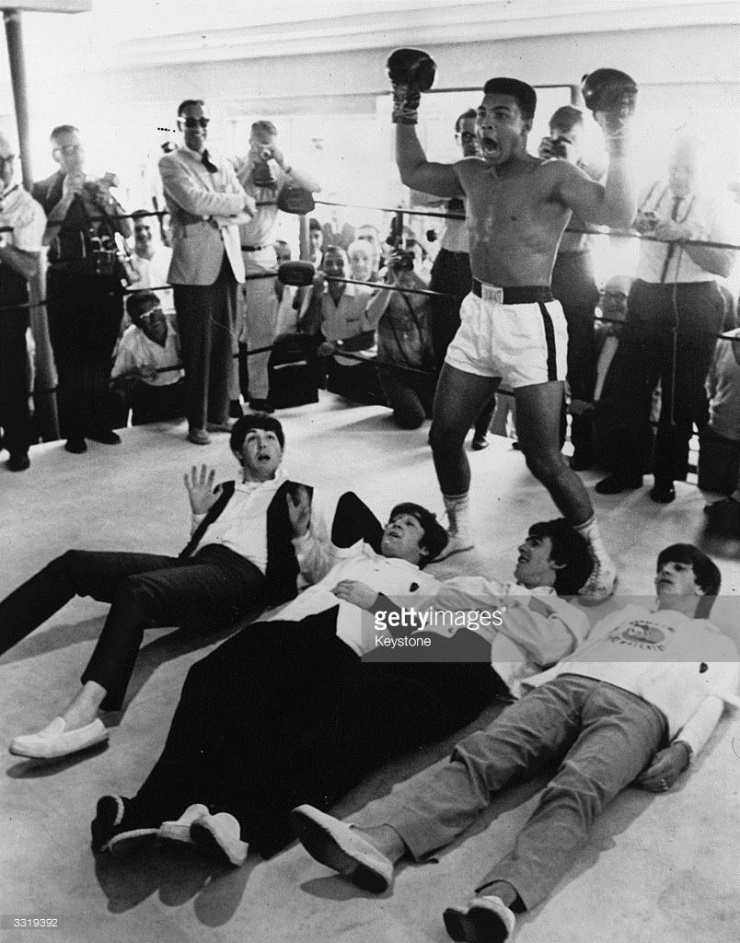 Clay And The Beatles : News Photo
