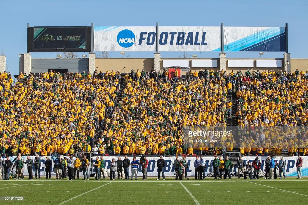 COLLEGE FOOTBALL: JAN 06 FCS National Championship - North Dakota State v James Madison : News Photo