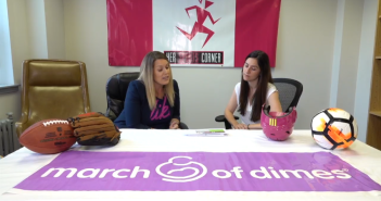 Her Sports Corner (March of Dimes) Competition Drawing