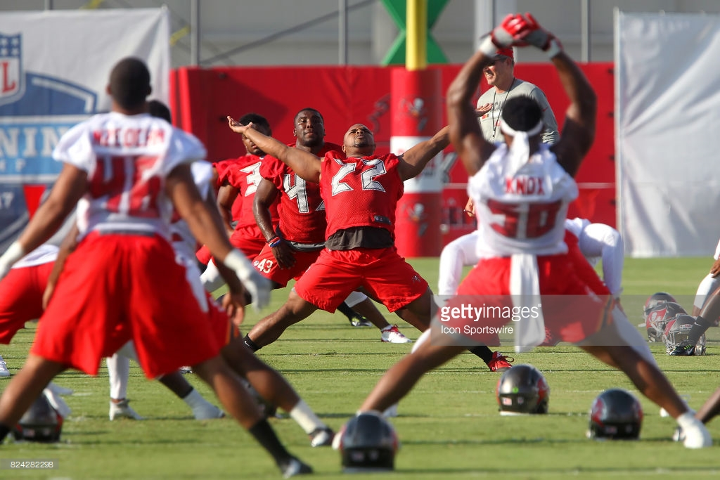 NFL: JUL 29 Buccaneers Training Camp : News Photo