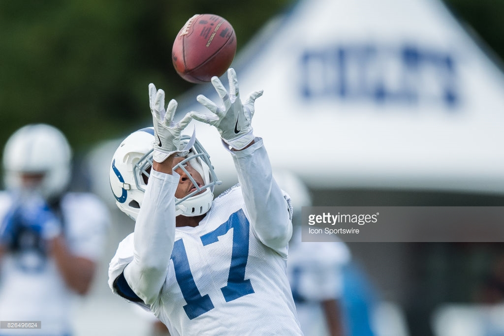 NFL: AUG 04 Colts Training Camp : News Photo
